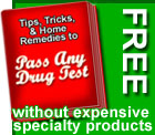 How do I pass a drug test free?